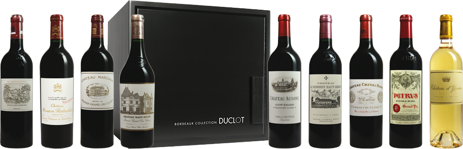 ChateauPrimeur.com : Caisse Bordeaux Collection
